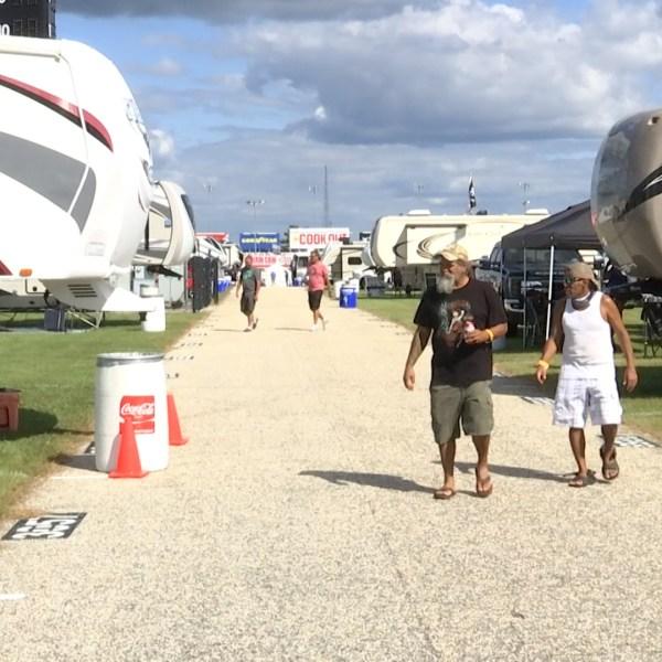 Darlington Raceway campers arrive ahead of Southern 500