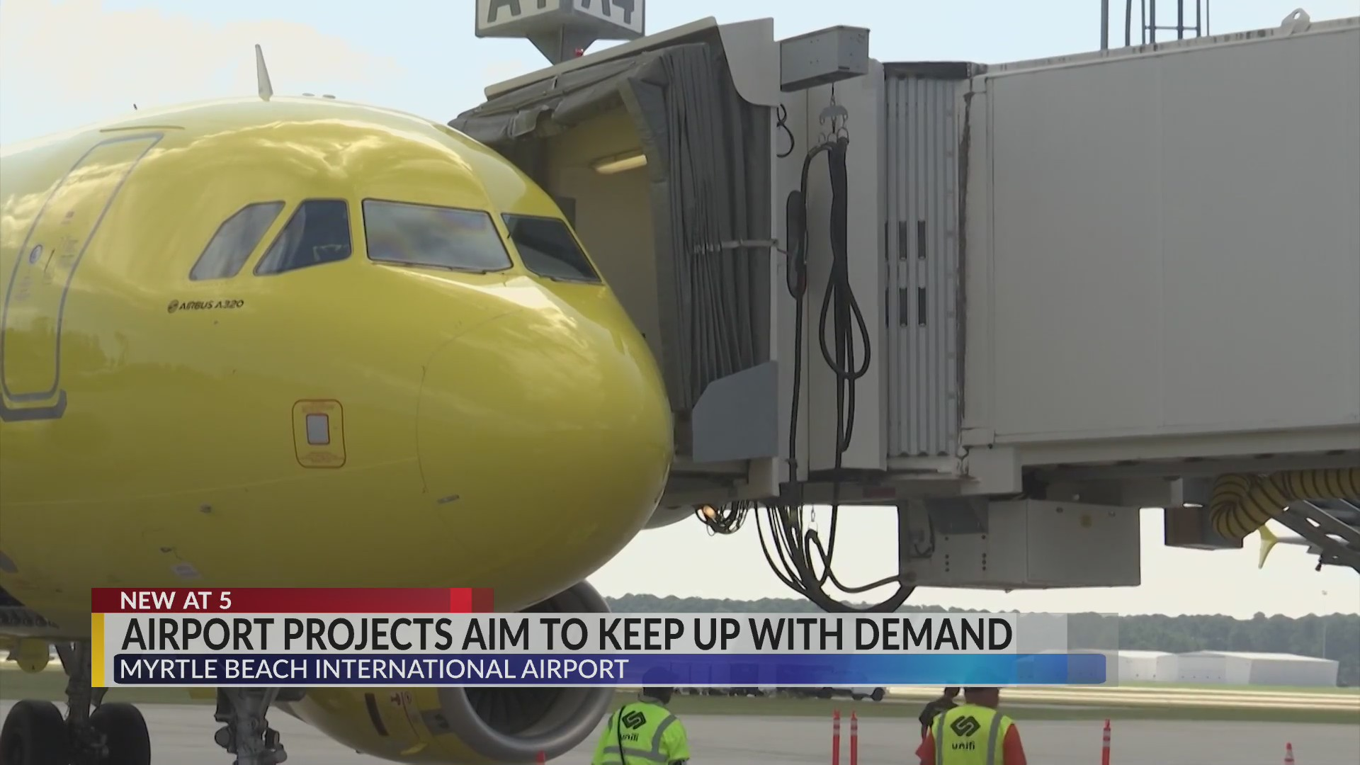 Myrtle Beach International Airport leaders plan projects for the offseason to keep up with growing demand