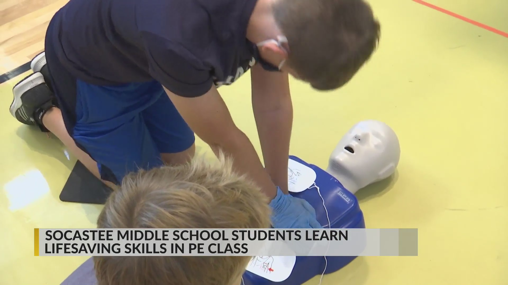 Socastee Middle School students get life-saving skills training